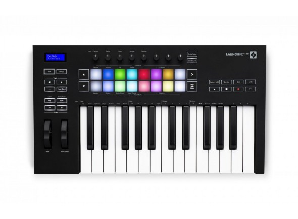 Novation Teclados MIDI Controladores Novation Launchkey 25 MK3