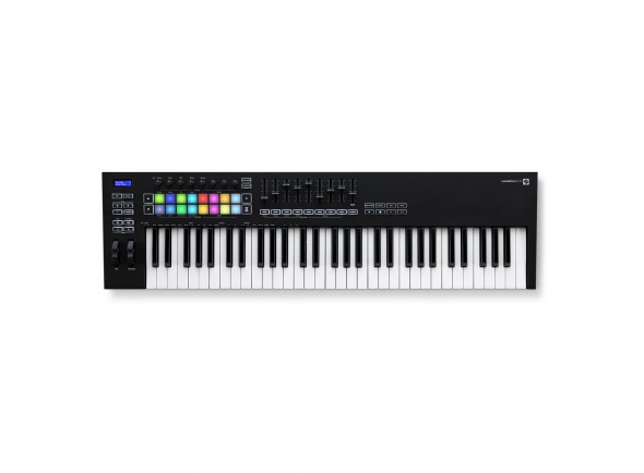Novation Controlador MIDI de 61 Teclas/Teclados MIDI Controladores Novation Launchkey 61 MK3