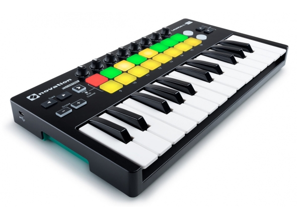 Teclados MIDI Controladores Novation Launchkey Mini MK2
