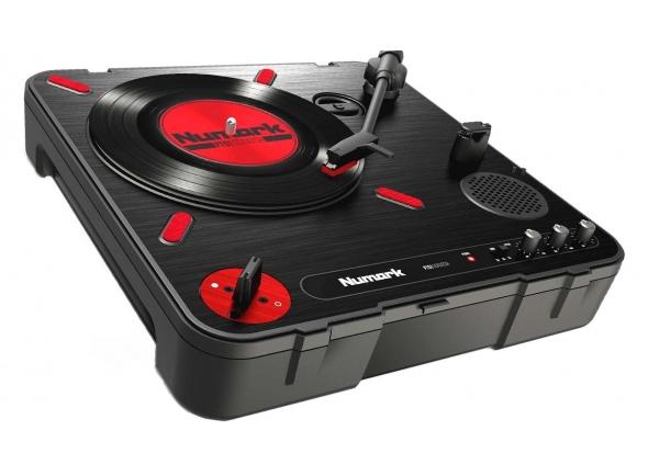 Gira-discos profissionais de Dj Numark PT01 Scratch
