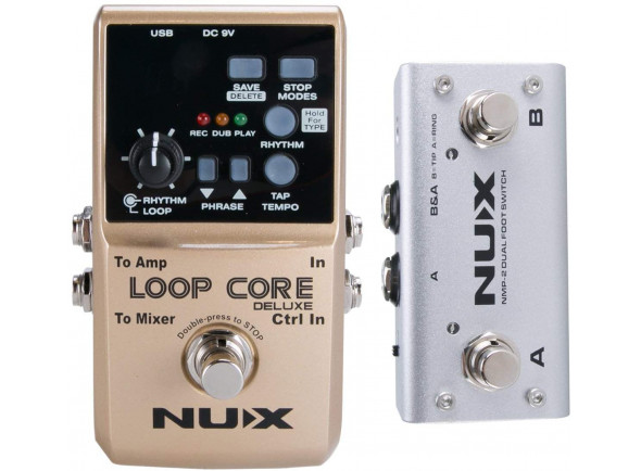 Looper Nux   Loop Core Deluxe Bundle