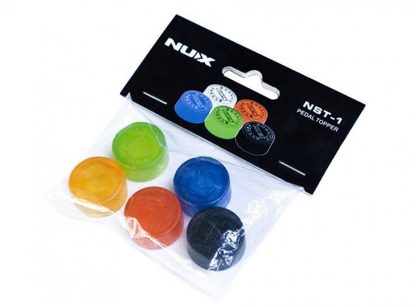 Acessório para efeitos de guitarra Nux   PEDAL TOPPER NST-1 Pack 5