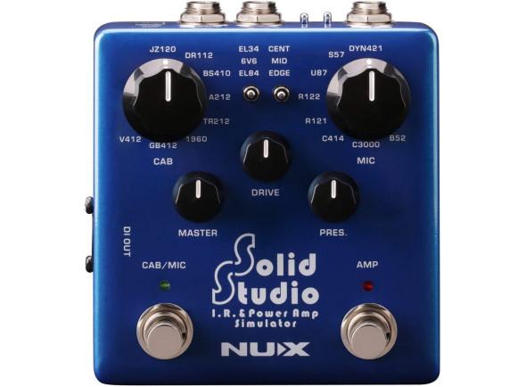 Outros efeitos para guitarra elétrica Nux   Solid Studio IR & Pow Amp Sim