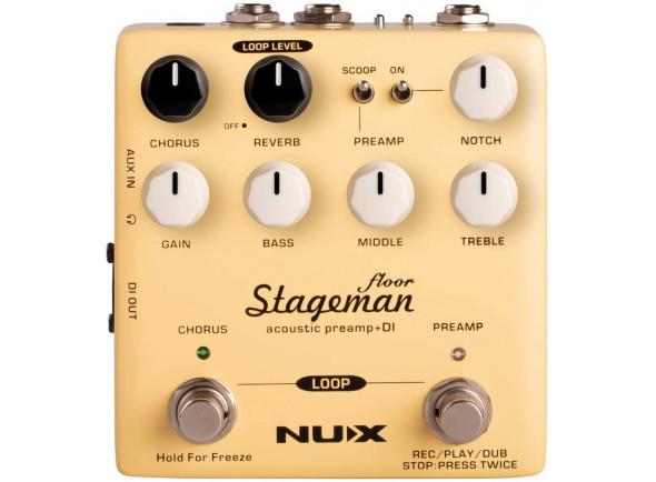 Efeitos para guitarra acústica Nux   Stageman Floor Preamp