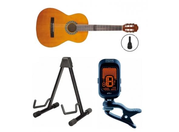 Guitarra Clássica/Guitarra Clássica OQAN Qgc-15 Gb Pack