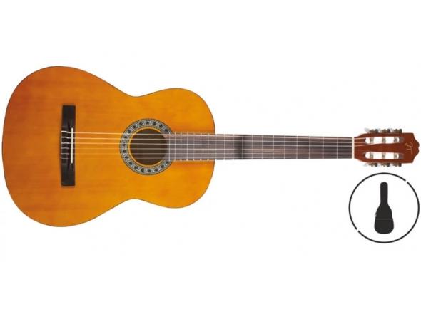 Guitarra Clássica/Guitarra Clássica OQAN Qgc-15 Gb