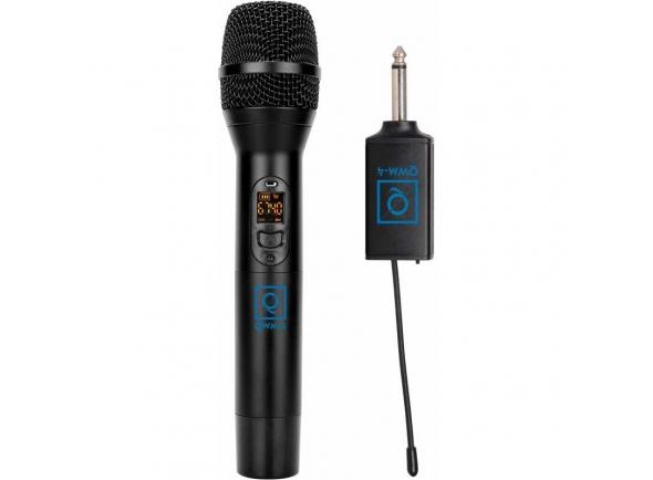 Microfone sem fio/Microfones para sistema sem fios OQAN QWM-4 (863-865 MHZ)