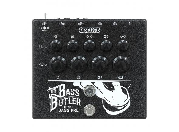Outros efeitos para guitarra elétrica Orange Bass Butler Bi-Amp Preamp Pedal