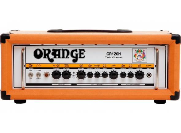 Cabeças de Guitarra a transístor Orange Crush CR120H