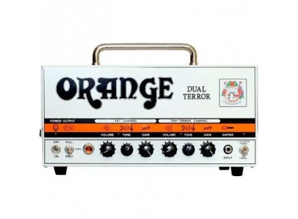 Cabeças de guitarra a válvulas Orange DUAL TERROR HEAD B-Stock