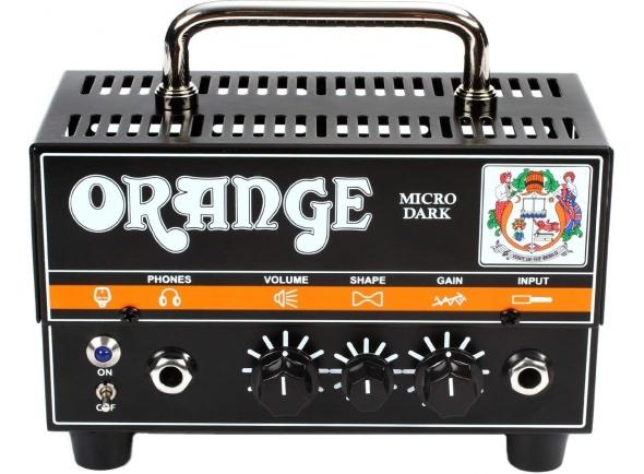 Cabeças de guitarra híbridas Orange Micro Dark