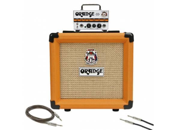 Cabeças de guitarra híbridas Orange Micro Terror Bundle
