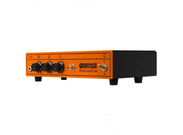 Cabeças de Guitarra a transístor Orange Pedal Baby 100
