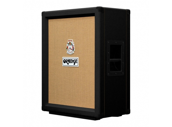 Colunas de guitarra 2x12 Orange PPC212 V Black