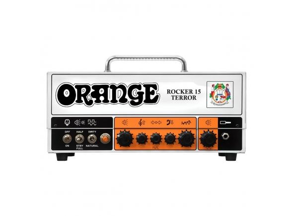 Cabeças de guitarra a válvulas Orange Rocker 15 Terror