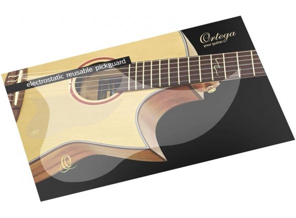 Pickguards para guitarras acústicas/Peças de reposição Ortega OERP Reusable Pickguard