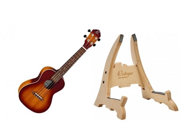 Ukulele Concerto Ortega RUDAWN Pack
