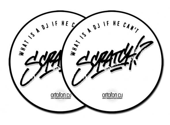 Slipmats Ortofon DJ Slipmat Scratch