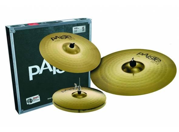 Pratos Paiste 101 brass universal set