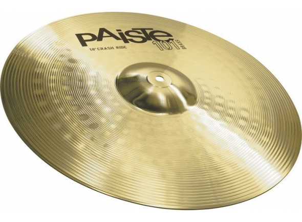 "Prato 18"" Crash Ride/Pratos Crash Paiste Crash Ride 18 101 brass"