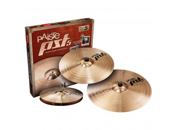 Conjunto de Pratos Paiste PST5 CymbalSet Universal, 14HH, 16C, 20R