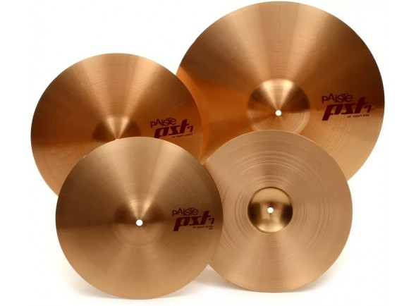 Conjunto de pratos/Conjunto de Pratos Paiste PST7 Set Medium