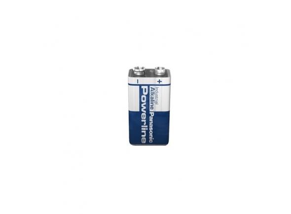 Pilhas Panasonic Pilha Alcalina 9V 6Lr61 Powerline