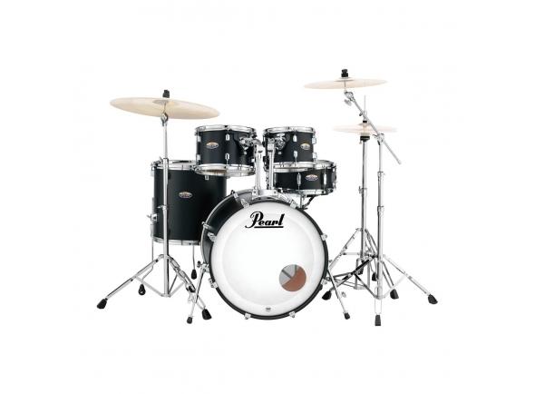 Conjunto de bateria completo Pearl Decade Maple Fusion S. Black
