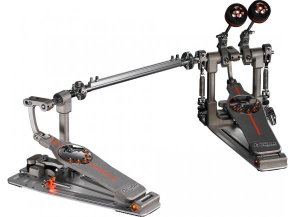 Pedal de bombo duplo Pearl Eliminator Demon Drive Double Pedal