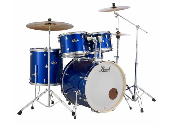 Conjunto de bateria completo Pearl Export EXX High Voltage Blue