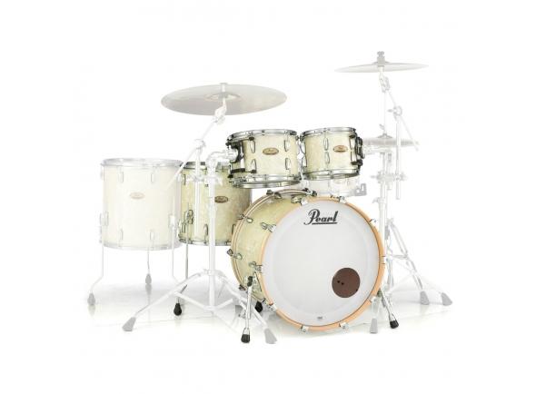 Conjuntos de bateria sem ferragens Pearl Session Studio Select 20 Nicotine White Marine Pearl