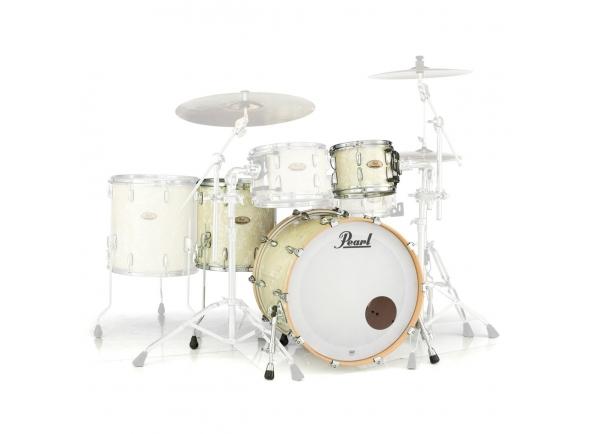 Conjuntos de bateria sem ferragens Pearl Session Studio Select 24  Nicotine White Marine Pearl