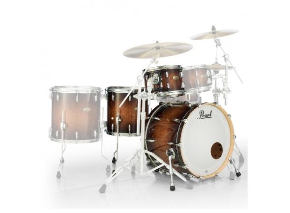 Conjuntos de bateria sem ferragens Pearl Session Studio Select 24 Gloss Barnwood Brown