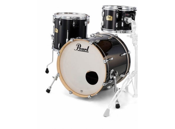 Conjuntos de bateria sem ferragens Pearl Session Studio Select 24 Piano Black