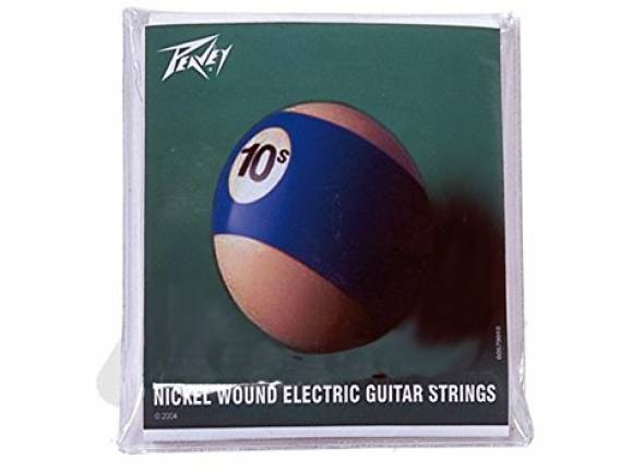 Jogo de cordas .010 Peavey nickel wound electric guitar strings
