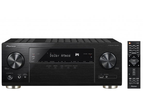 Sistema de som Home Cinema Pioneer AV HIFI VSX-933-B.