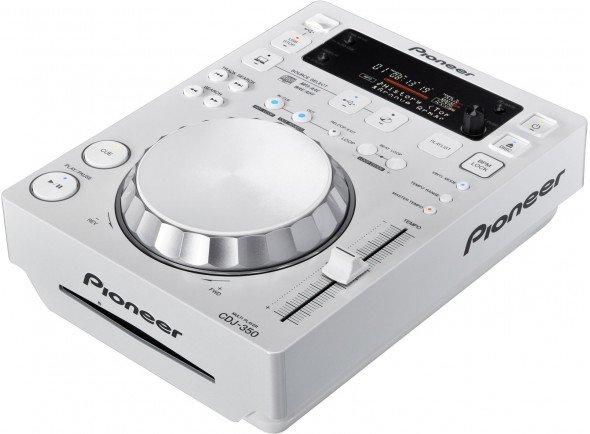Leitor de CD simples/Leitor de CD simples Pioneer CDJ-350-W
