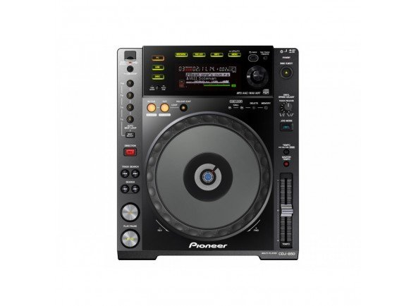 Leitor de CD simples Pioneer DJ CDJ-850-K