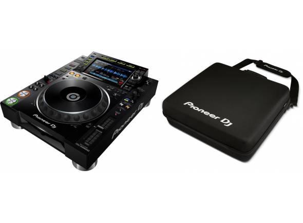 Ver mais informações do Leitor de CD simples Pioneer DJ CDJ-2000NXS2 Pack
