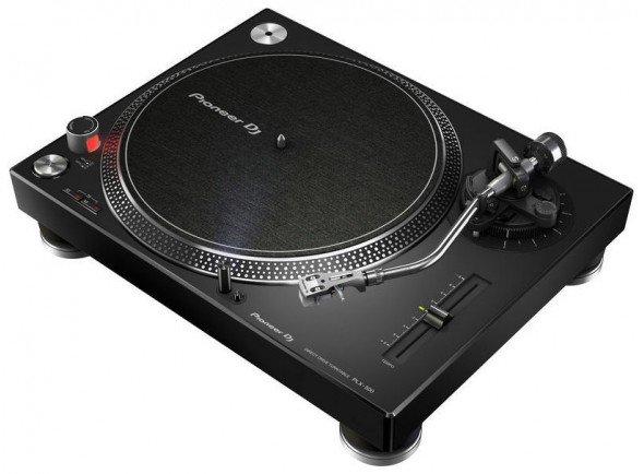 Gira-discos profissionais de Dj Pioneer PLX-500-K