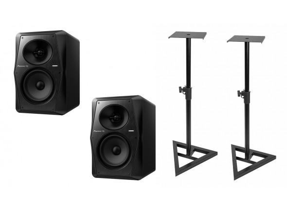 Monitores de estúdio activos Pioneer DJ  VM-50 Bundle
