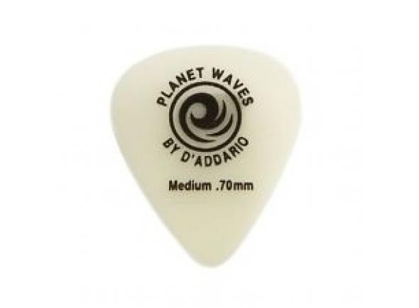 Palhetas para guitarra Planet waves 1CCG4-10 Cellu-Glo Picks Med.