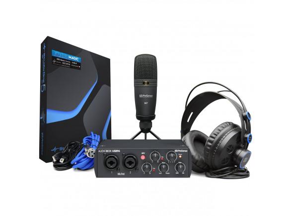 Conjunto de gravação de interface de áudio USB/Conjunto para estúdio Presonus  Audiobox 96 Studio 25th Anniv