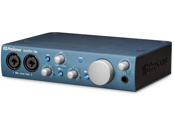 Interface Áudio USB Presonus AudioBox iTwo