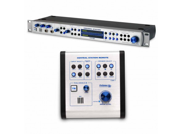 Interface de monitoramento do estúdio/Controladores de estúdio / monitor Presonus  Central Station Plus