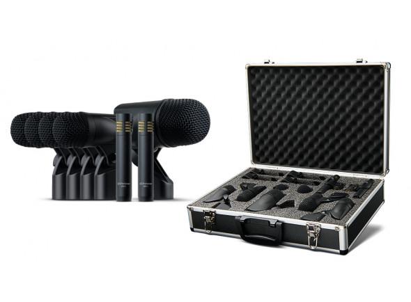 Microfones para Bateria/Conjunto de microfones para bateria Presonus DM-7