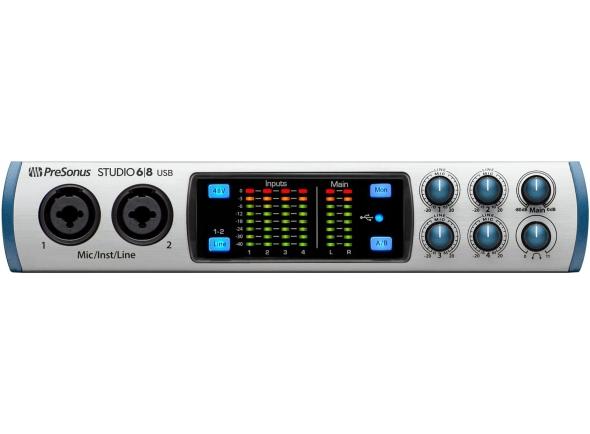 Interface Áudio USB Presonus Studio 68