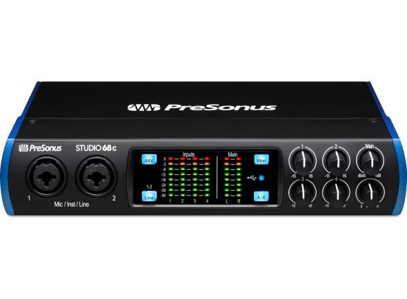 Presonus interface Interface audio USB-C 6x6/Interface Áudio USB Presonus Studio 68c