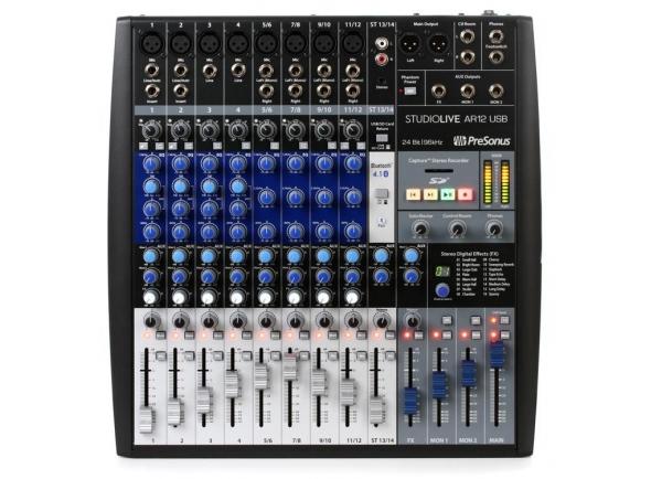 Ver mais informações do  Presonus StudioLive AR12 USB