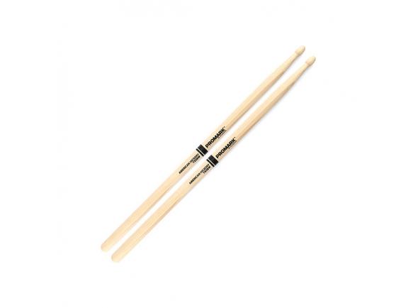 Baqueta 5B Pro Mark TX5BW 5B Hickory - Wood Tip